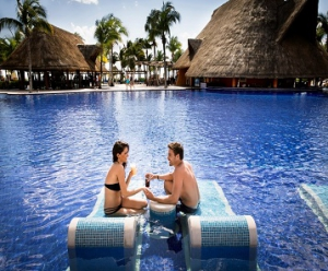 Honeymoon at Barcelo Maya Palace Deluxe