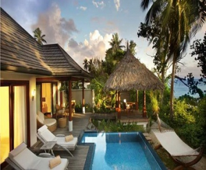 Honeymoon at Hilton Seychelles Labriz Resort & Spa